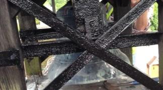 Painting Bellcote Frame