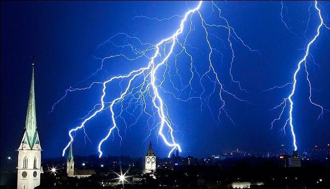 Lightning Protection Church Steeplejacks High Level Mtnance